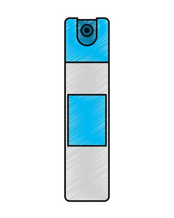 ボトルスプレー空気フレッシュナー消毒クリーンベクターイラスト