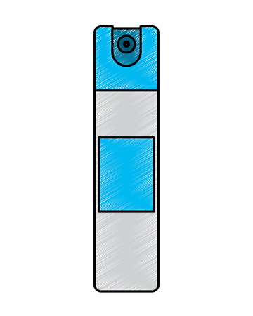 bottle spray air freshener disinfectant clean vector illustration 向量圖像