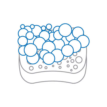 schone hygiëne pictogram vectorillustratie