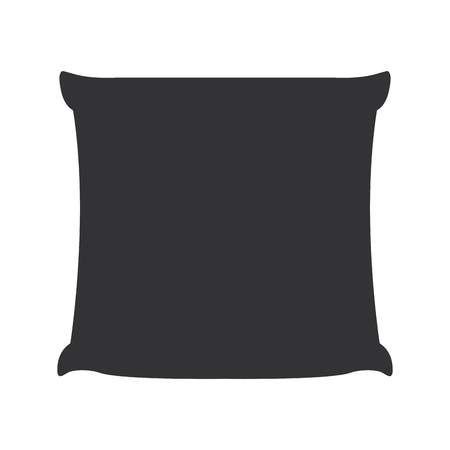 Cushion of sofa icon vector illustration design