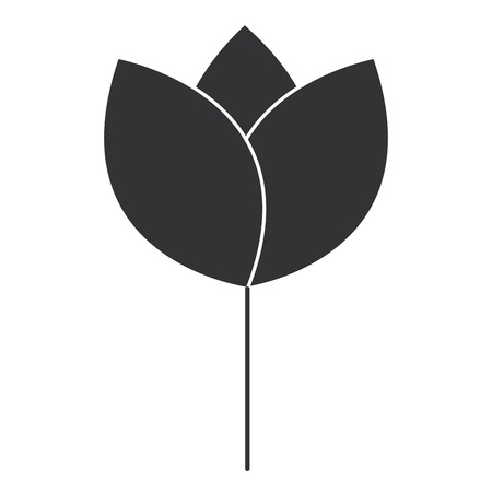 Leaf plant isolated icon vector illustration design