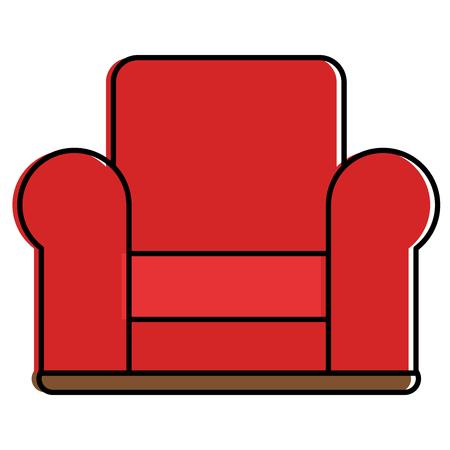 comfortable sofa isolated icon vector illustration design 일러스트