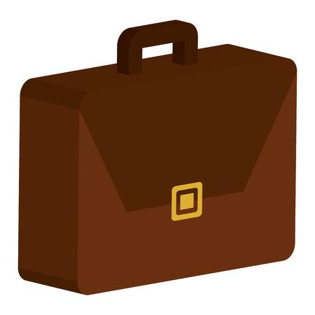 Portfolio briefcase isolated icon vector illustration design. Stock Illustratie