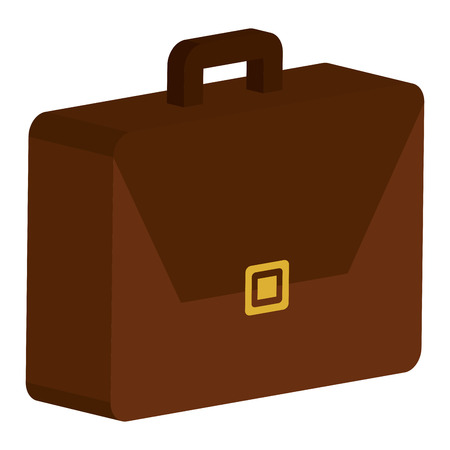 Portfolio briefcase isolated icon vector illustration design. Illustration