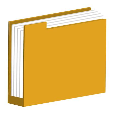 File folder isolated icon vector illustration design.