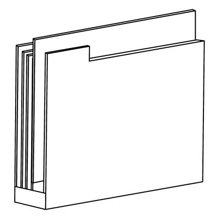 file folder isolated icon vector illustration design