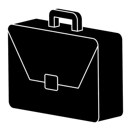 portfolio briefcase isolated icon vector illustration design Illustration