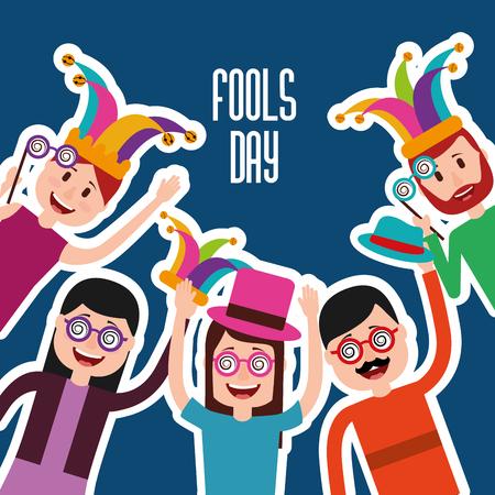 People celebration vector illustration