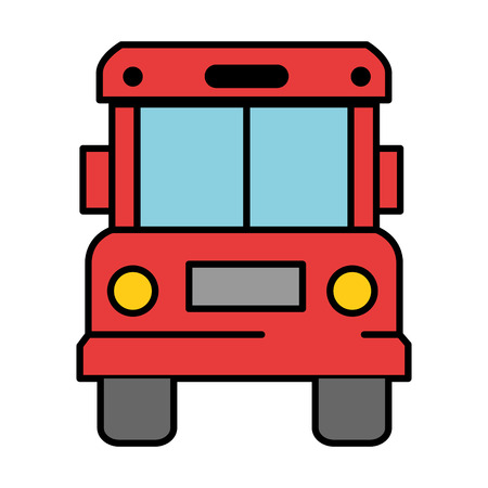 Bus front isolated icon vector illustration design. Zdjęcie Seryjne - 95623710