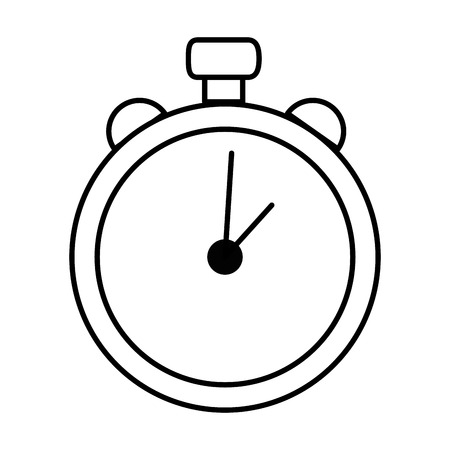 time chronometer isolated icon vector illustration design