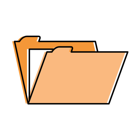 File folder isolated icon vector illustration design. Imagens - 95623352