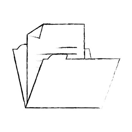 file folder isolated icon vector illustration design Imagens - 95604113