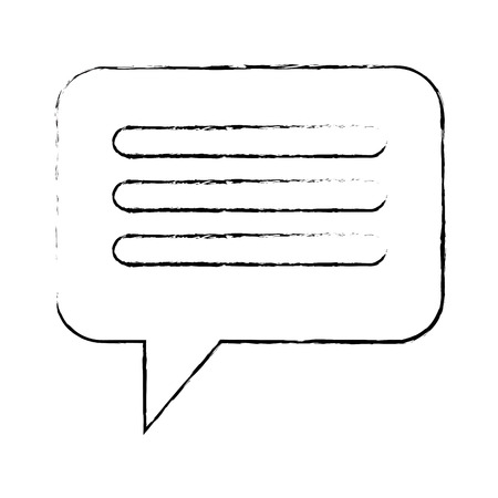 speech bubbles isolated icon vector illustration design  イラスト・ベクター素材