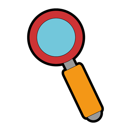 Search magnifying glass icon vector illustration design Stok Fotoğraf - 95607299