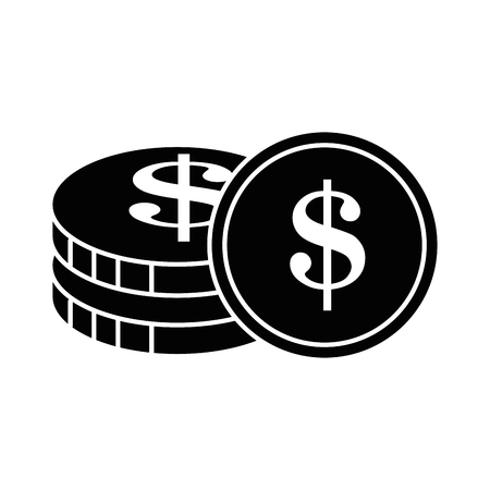 coins money isolated icon vector illustration design 写真素材 - 95614164