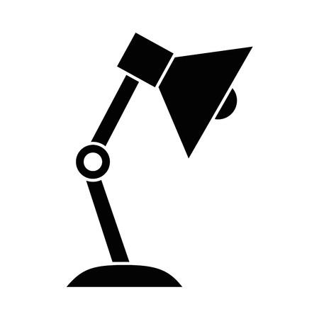 desk lamp isolated icon vector illustration design