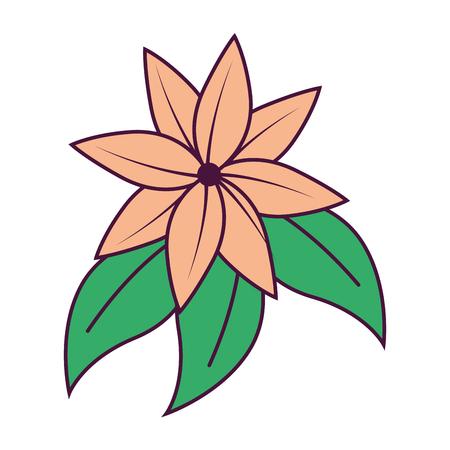 A beautiful floral decoration frame vector illustration design Stockfoto - 95620592