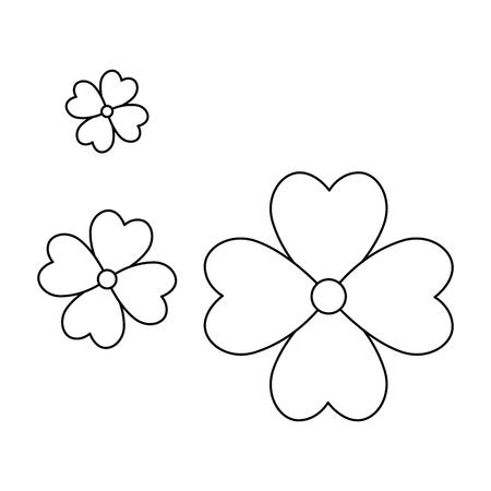beautiful floral decoration frame vector illustration design Stockfoto - 95614316