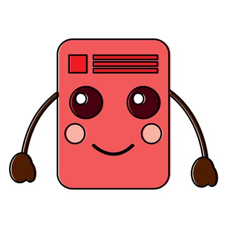 document happy emoji icon image vector illustration design Stock Vector - 95884500