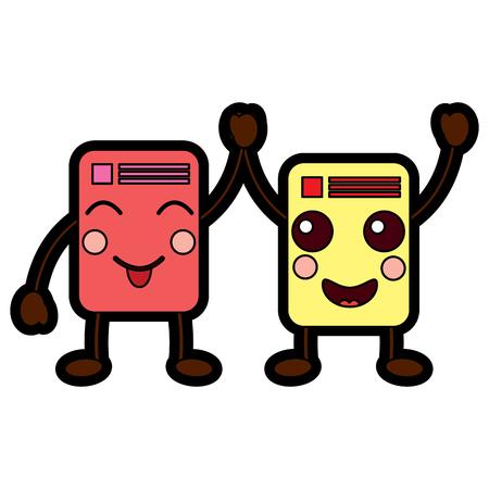 documents emoji icon image vector illustration design