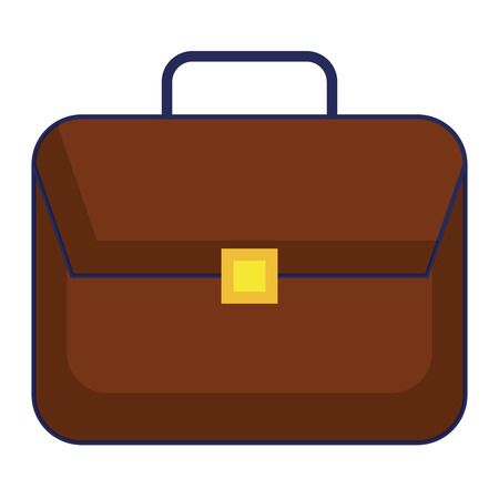 Portfolio briefcase isolated icon vector illustration design.  イラスト・ベクター素材