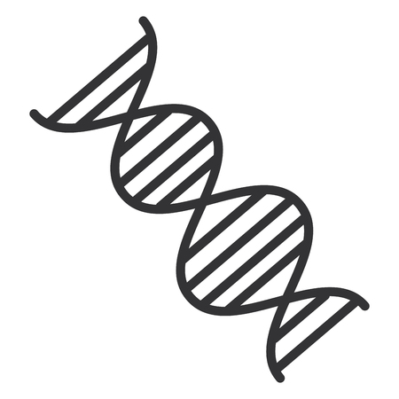 dna molecule isolated icon vector illustration design Reklamní fotografie - 96009423