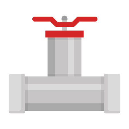bath tubing with key vector illustration design