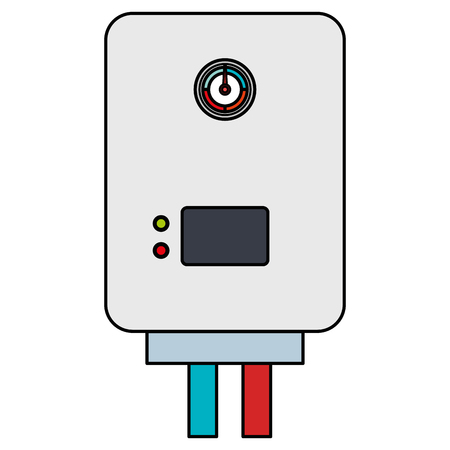 water heater isolated icon vector illustration design