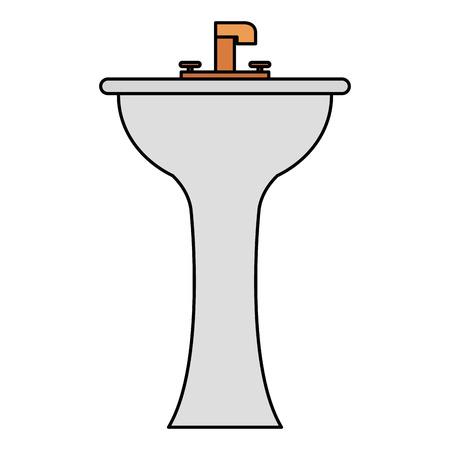 handwash bathroom isolated icon vector illustration design