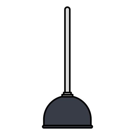 Fontanería fontanería bomba icono de ilustración vectorial de diseño Foto de archivo - 96009506