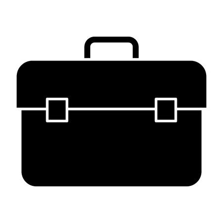Plumber tool box icon vector illustration design
