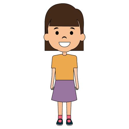 Girl illustration design