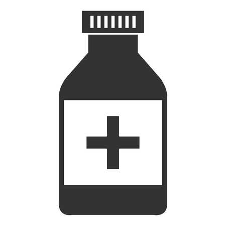 bottle drugs isolated icon vector illustration design Фото со стока - 95989898
