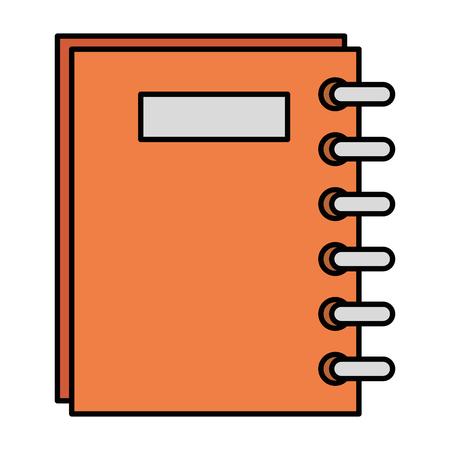 notebook school supply icon vector illustration design Stock Vector - 96003102