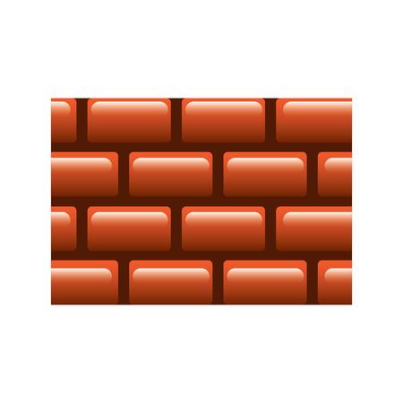 brick wall blocks construction concret image vector illustration 일러스트
