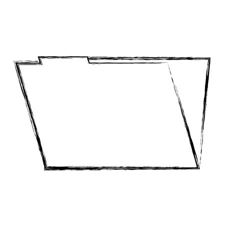 folder file data information system storage vector illustration doodle graphic