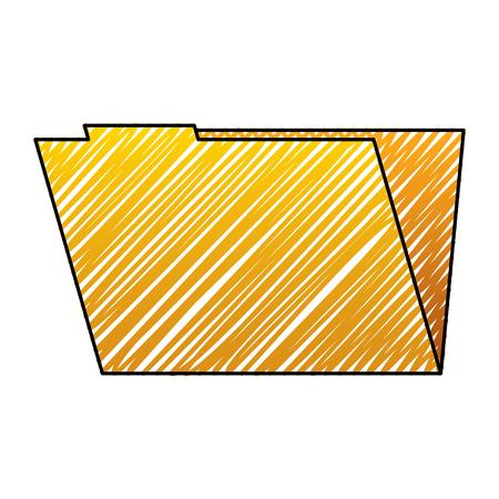 folder file data information system storage vector illustration drawing graphic Çizim