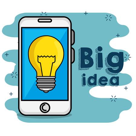 電球付き携帯電話、入札アイデアコンセプト