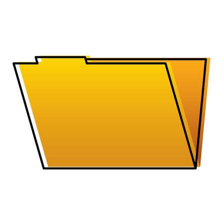 folder file data information system storage vector illustration