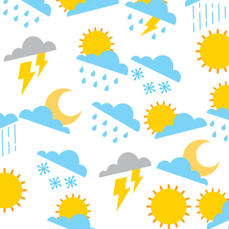 weather pattern vector illustration
