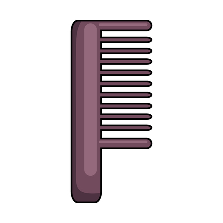 comb barber tool icon vector illustration design