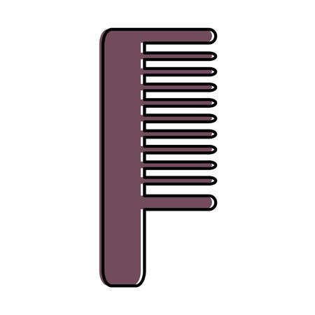 Kamm Friseur Werkzeug Symbol Vektor-Illustration Design Standard-Bild - 96044482