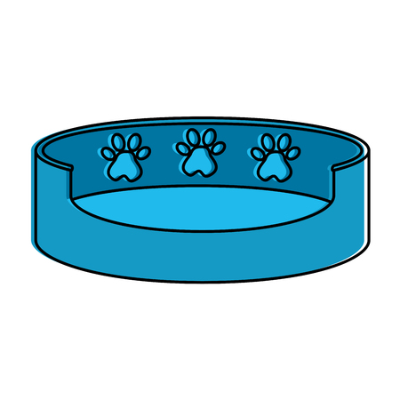 pet mattress isolated icon vector illustration design
