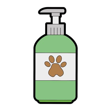 Haustier Shampoo Flasche Symbol Vektor-Illustration , Design , Standard-Bild - 96068778