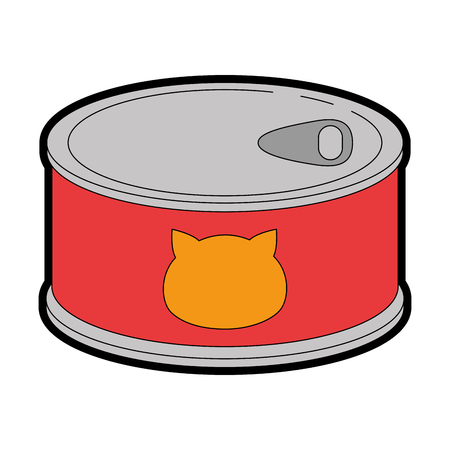 cat food can icon vector illustration design