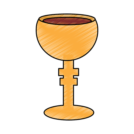 chalice cup icon image vector illustration design