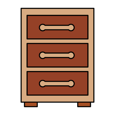 night table or archive icon image vector illustration design Stok Fotoğraf - 96054592