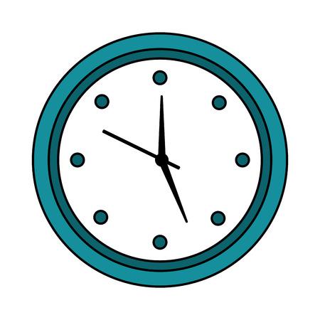 wall clock icon image vector illustration design  Illustration
