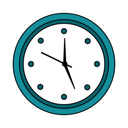wall clock icon image vector illustration design 写真素材 - 96054661