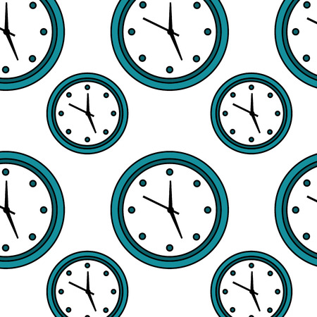 Wall clock icon image vector illustration design